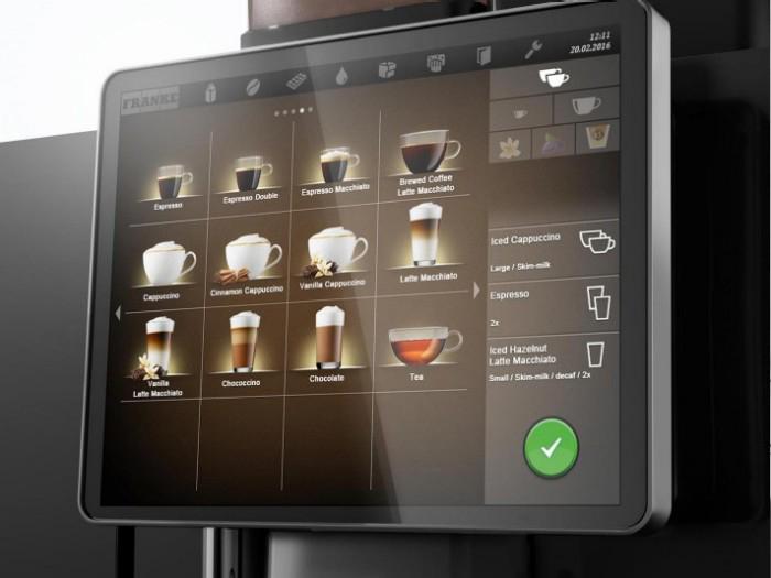 Franke A800 Screen